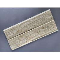 China Customized Plastic Bathroom PVC Wood Panels , Bathroom Ceiling Cladding Panels wholesale
