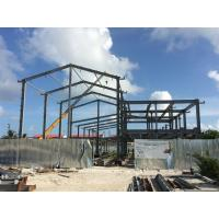 Quality H beam Q235B Steel Building Steel Frame Fabrication For Gymnasium for sale