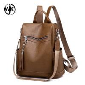 China Guangzhou factory black pu lady backpack cheap price hemp backpack new design magic backpack wholesale