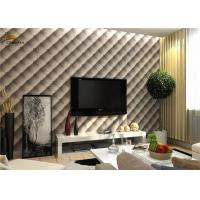 China Interior Noise Reduction Wall Panels 600mm x 600mm With PU Leather Finish wholesale