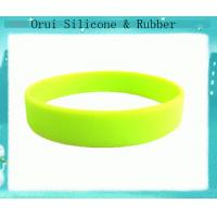 China Customized  promotional Germany  silicone rubber wristbands wholesale