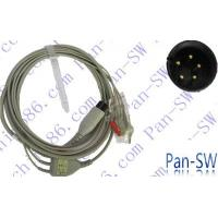 China HP one piece three lead ECG cable wholesale