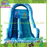 China High quality small indoor inflatable slide pool children inflatable pool with slide wholesale
