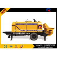 China Concrete Pumping Machine , Small Portable Concrete Pump 80M3 Discharge wholesale