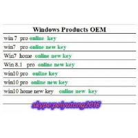 China Windows&Office FPP / OEM  Brand New Key ,  100% Online Activation  ,  Lifetime Guarantte  , for All Language wholesale