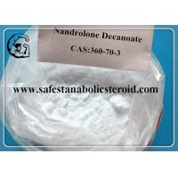 China Raw Testosterone Powder Muscle Building Steroids Nandrolone Decanoate Steroids CAS 360-70-3 wholesale