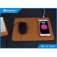 China Multi Function Wireless Fast Charger With Mouse Pad Design , Wireless Charging Pad wholesale