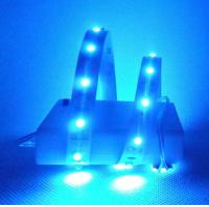 China 4.5V AA battery powered LED strip light RGB wholesale