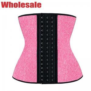 China Women Waist Trainer Corset Solid Faja Sport Girdle Bodybuilding Waist Trainer wholesale