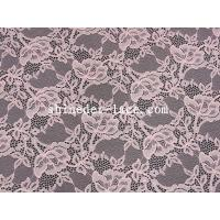 China Mesh Flower Stretch Lace Fabric Nylon Spandex Materail Fashion Design SYD-0178 wholesale