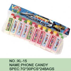 China Watermelon Phone Sugar Powder Candy Lowest Calorie 7 G * 30 Pcs * 24 Bags wholesale