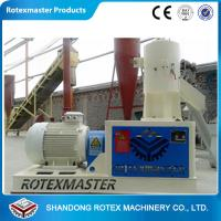 China YMKJ550 Power 75KW Flat Die Wood Pellet Machine , Hops / Hay pellet mill wholesale