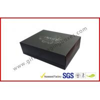 China Rigid Luxury Gift Boxes With Foil Lid And Base Matt Lamination wholesale