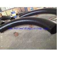 China TOBOGROUP Steel Butt Weld Fittings 24 Inch Stainless Steel Pipe Fittings , SS 90D LR Elbow on sale