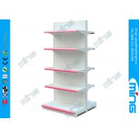 China Mini Market Supermarket Display Shelves Double Sided for Grocery Malls on sale