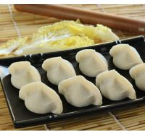 China Tasty Different Flavor Frozen Processed Food , Frozen Chinese DumplingsJiaozi wholesale