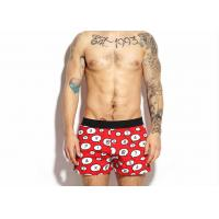 Custom Pattern Loose Men'S Underwear Boxer Shorts Breathable With Size L