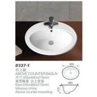 China Above Counter Ceramic Wash Basin (D327-1) wholesale