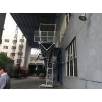China YZZ 132 S1-4 Motor Mast Climbing Work Platforms Adopts European Technology wholesale