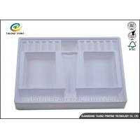Quality Eco Friendly Blister Plastic Packing Material Glossy Inner Tray For Cosmetic Bottle for sale
