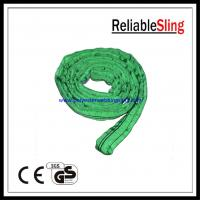 China Single / double ply Endless Polyester Round Slings , crane / cargo sling on sale