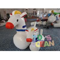 China Adult Inflatable Games Inflatable Pony Hops Jumping Horse Racing Derby Race wholesale