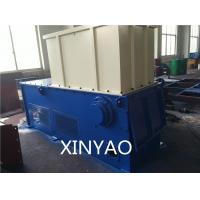 China Full Automatic Industrial Plastic Shredder Machine, PLC Control , One Shaft Shredder wholesale