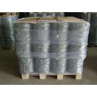 China Double Twisted Electric Galvanized Barbed Wire Anti Corrosion 16x16gauge wholesale