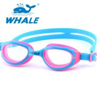 China Novelty Watertight Kids Swim Goggles Clear Vision For Girls Water Sports Competition wholesale