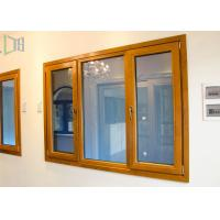 China Thermal Break Open Aluminium House Casement Windows with Powder Coating wholesale