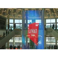 China See Through Transparent LED Screens High Brightness Store Video Wall 5500 Nits wholesale