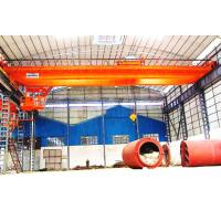Buy cheap High Pressure Double Crank Electric Double Girder Overhead Crane With Remote Control from wholesalers