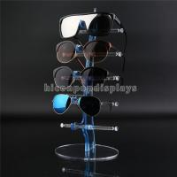 China Eyeglass Shop Countertop Commercial Eyewear Display Rods For 5 Pair Of Sunglasses wholesale