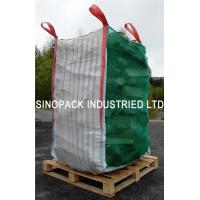 China Firewood ventilated mesh bulk bags with 100% vigin polypropylene wholesale