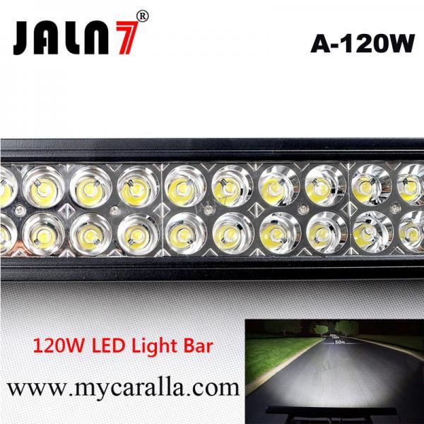 22 120w barra de luz led jeep todoterreno land rover for Barra de luz led