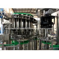 China Piston Pump SS304 Cooking / Vegetable / Edible Oil Filling And Capping Machine wholesale