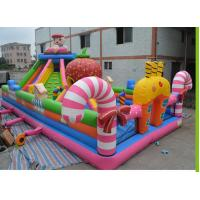 China inflatable kids funny jumping playing playground fun city for sale wholesale