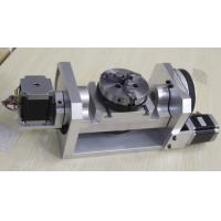 Buy cheap K01-100mm Chuck CNC 4th Axis / 5th Axis CNC Dividing Head for CNC Router from wholesalers