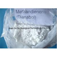 China Oral Anabolic Steroids Dianabol / D-bol White Powder CAS 72-63-9 wholesale