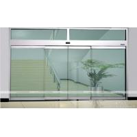 China Heavy Duty Commercial Automatic Glass Door Waterproof  For Front Door wholesale