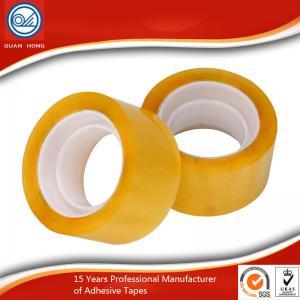 China BOPP film water-based pressure senditive adhesive Tape , parcel tapes wholesale