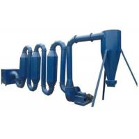China Wet wood sawdust pipe dryer machine for making wood briquettes or pellet wholesale