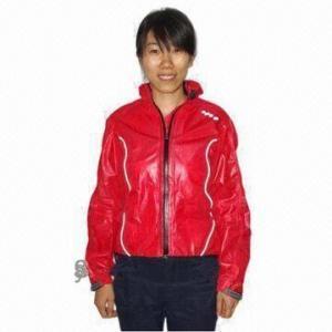 China Girl's Cycling Rainwear with Waterproof Zipper wholesale