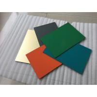 Buy cheap Polyester Paint Aluminum Sandwich Panel 2000 * 5700 * 4mm With 0.30mm Alu from wholesalers