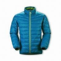 China Women's Down Jacket with YKK 5# Plastic Zipper and 2 Hang Pocket wholesale