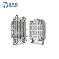 China Hot Runner Injection Molding Molds , PET Preform Mould HRC45 - HRC48 Hardness wholesale