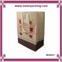 China Customized Printed Luxury Paper Shopping Bag, Paper Bag With Logo for Wholesale ME-BG021 wholesale