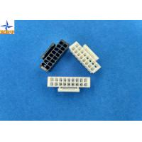 China Dual Row PA66 Lvds Display Connector Housing With Lock Pitch 2.00mm wholesale