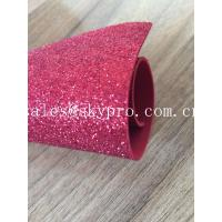 China Sparkly Red Printed Glitter EVA Foam Sheet With Non Discoloring Adhesive Ethylene Vinyl Acetate wholesale