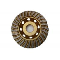 China 4.5 Inch Diamond Cup Grinding Disc With Arbor 22.23mm High Performance on sale